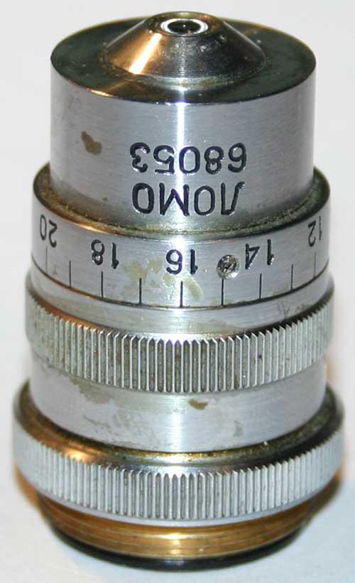Original condition of the LOMO APO 40x0.95 objective