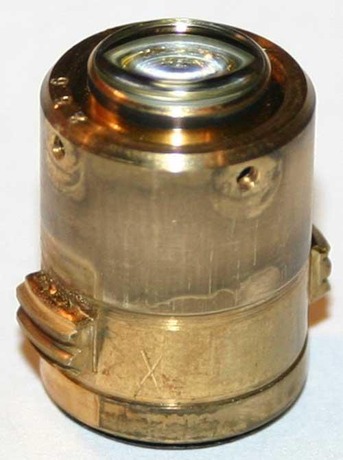 Repair of LOMO APO 40x0.95 microscope objective, подвижный внутренний блок