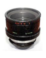 FAST LOMO lens OKC14-75 1.5/75mm,T/1.5, Konvas/Kinor OCT-19 mount