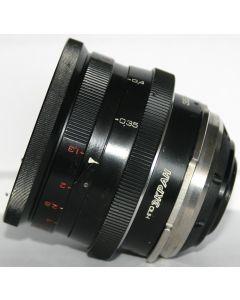 Fast EKRAN 35mm lens OKS15-35-1 (f/1.2, T/1.3)